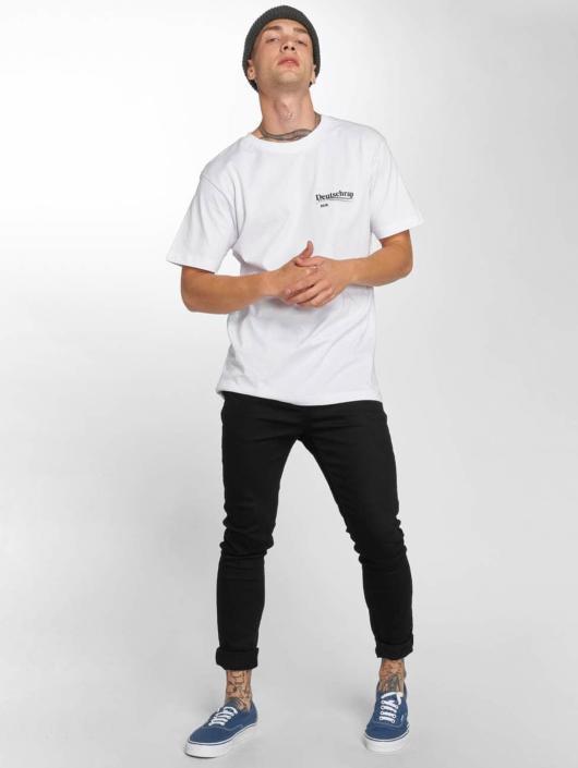 Mister Tee T-Shirt Deutschrap blanc