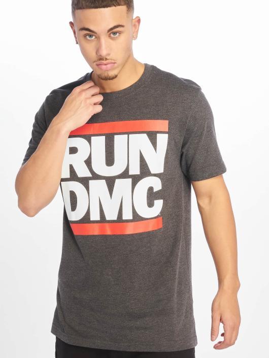 Mister Tee T-Shirt Run DMC grau