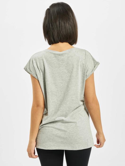 Mister Tee T-Shirt Ladies Five Seconds Of Summer Longprint grey