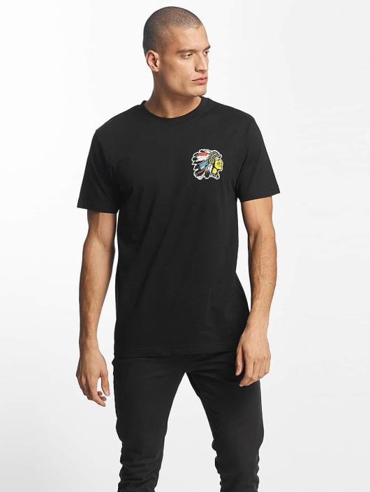 Mister Tee T-shirt Indian Logo nero