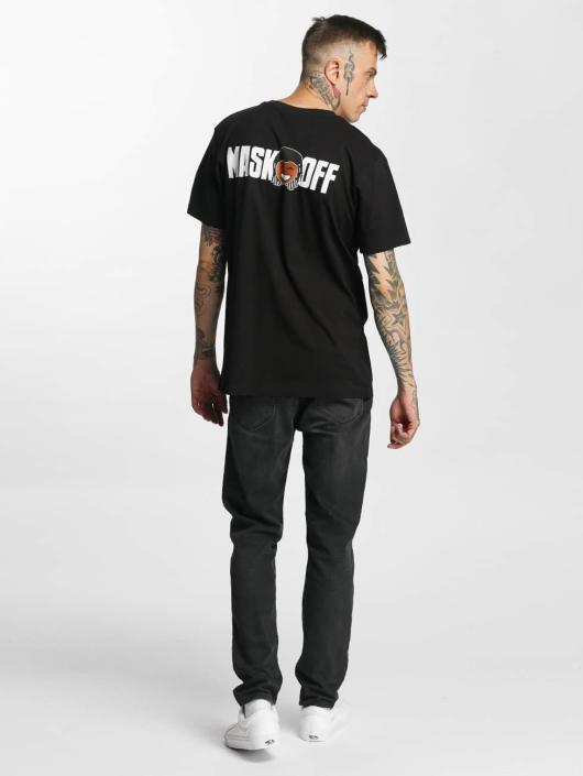 Mister Tee T-Shirt Mask On Mask Off noir