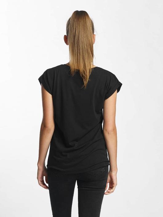 Mister Tee T-Shirt Rose noir