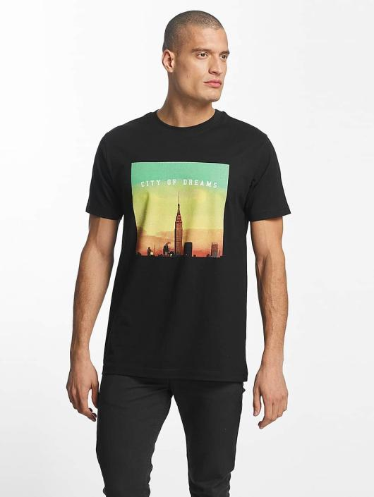 Mister Tee T-Shirt City of Dreams noir