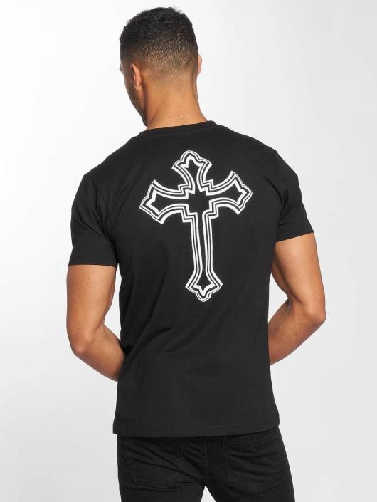 Mister Tee T-Shirt Tupac Cross noir