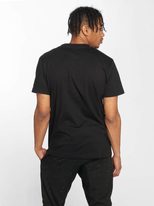 Mister Tee T-Shirt Embroidered noir