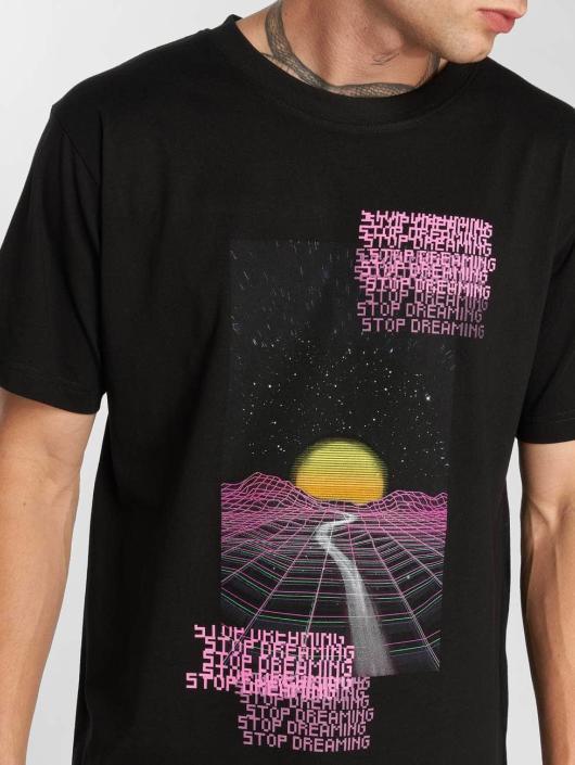 Mister Tee T-Shirt Stop Dreaming Tee noir