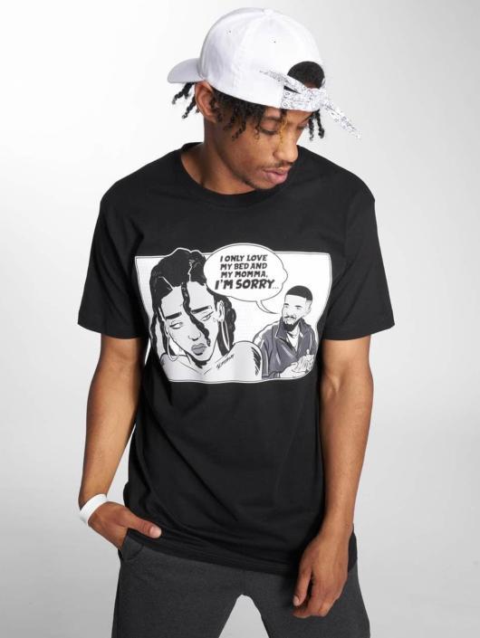Mister Tee T-Shirt Sorry Tee noir