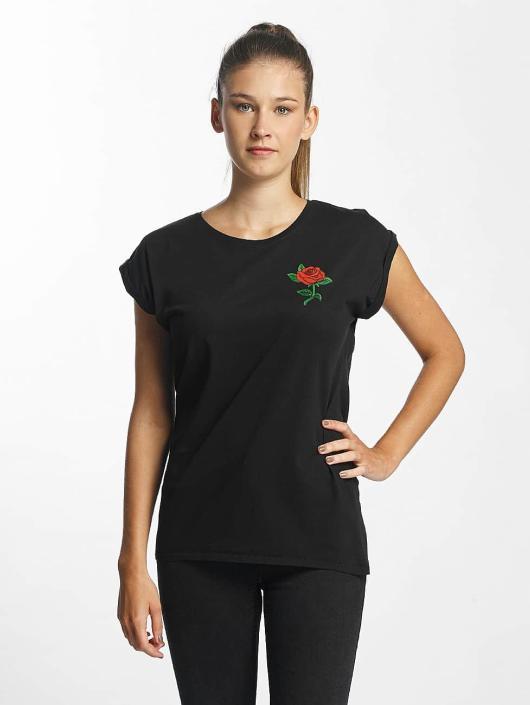 Mister Tee T-Shirt Rose schwarz