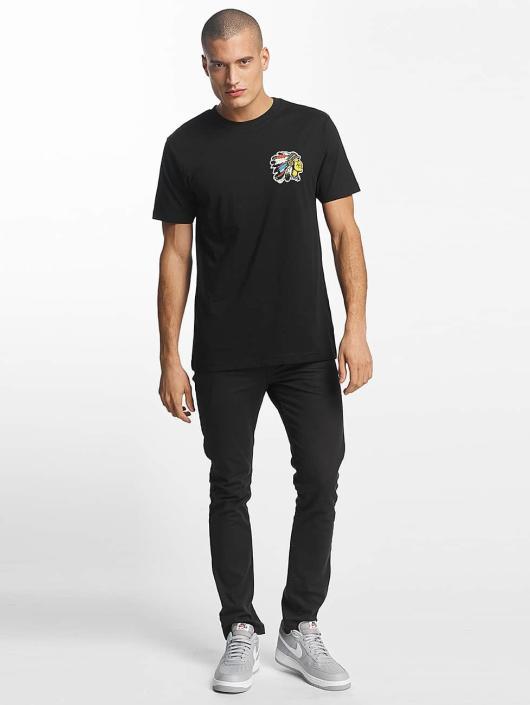 Mister Tee T-Shirt Indian Logo schwarz
