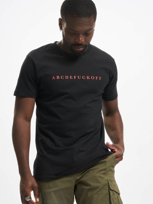 Mister Tee T-Shirt ABC schwarz