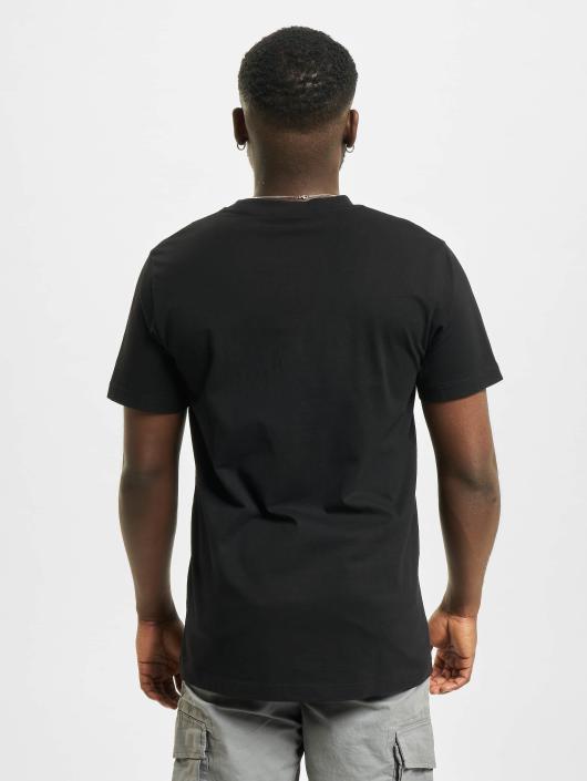 Mister Tee T-shirt Passion Rose svart