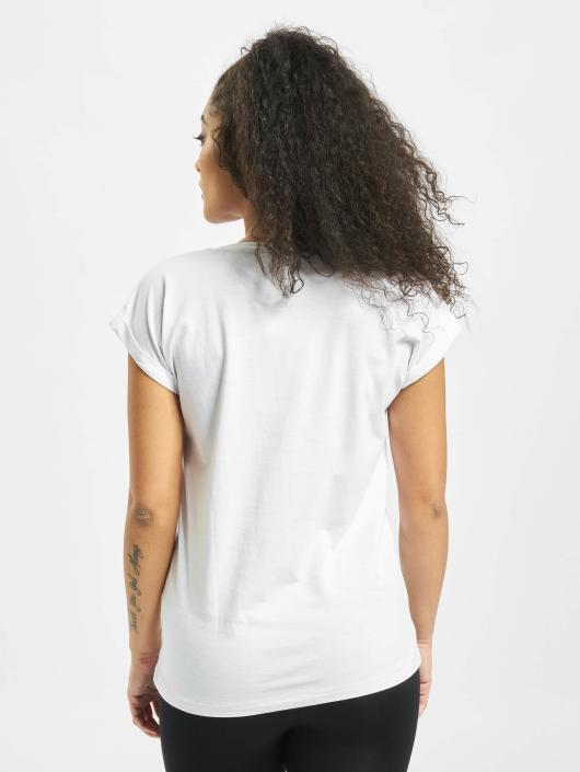 Mister Tee T-shirt Ladies Parental Advisory vit