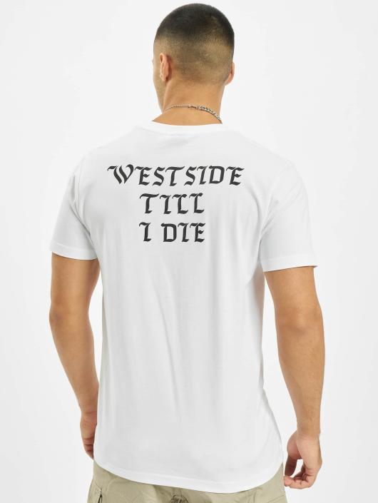 Mister Tee T-Shirt Westside weiß