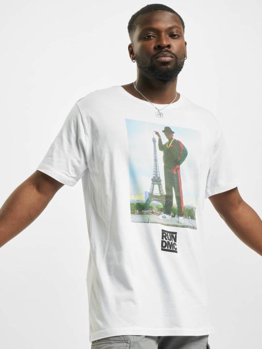 Mister Tee T-Shirt Run DMC Paris white