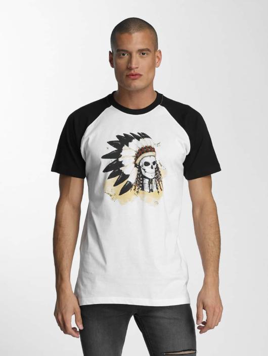 Mister Tee T-Shirt Dead Indian white