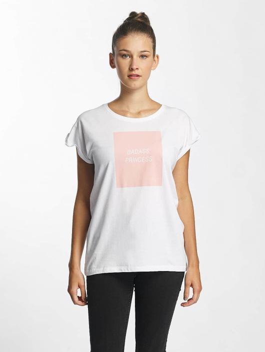 Mister Tee T-Shirt Badass Princess white