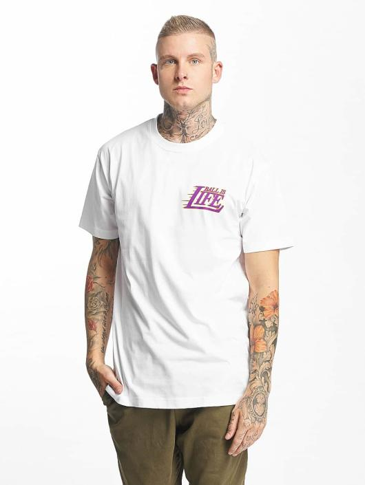 Mister Tee T-Shirt Ball Is Life white
