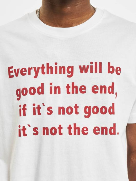 Mister Tee T-Shirt Everything Will Be Good white