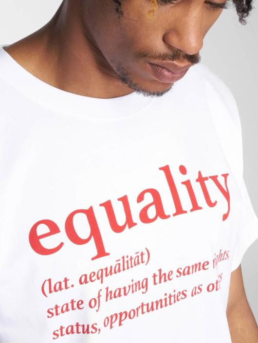 Mister Tee T-Shirt Equality white
