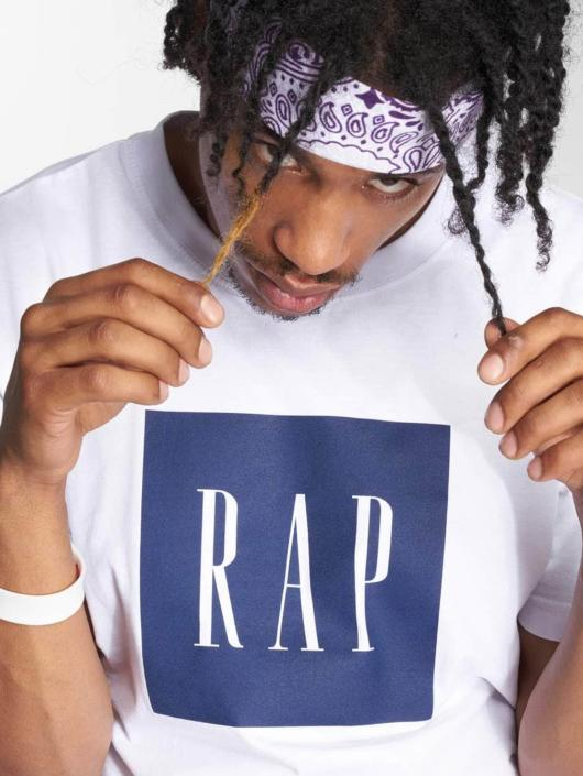 Mister Tee T-Shirt Rap Tee white