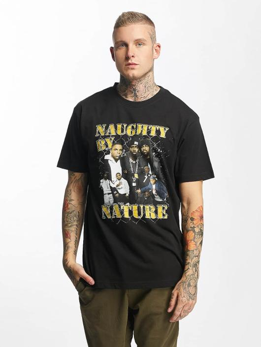 Mister Tee t-shirt Naughty by Nature 90s zwart
