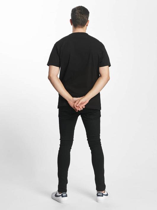 Mister Tee t-shirt Fake Love zwart