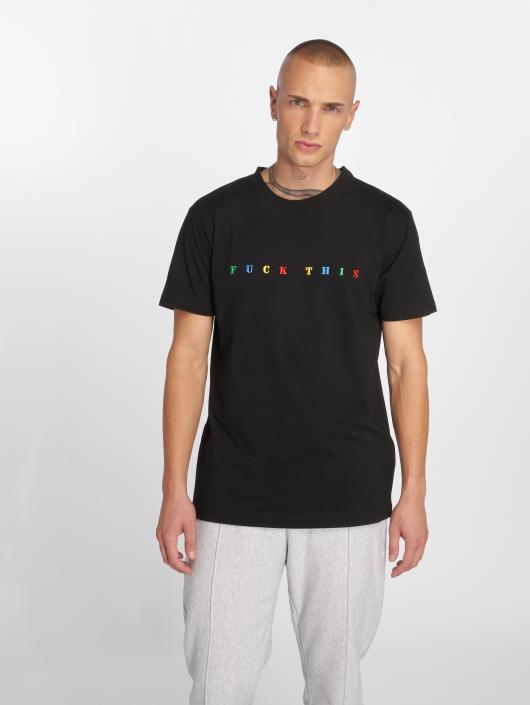 Mister Tee t-shirt Fuck This zwart