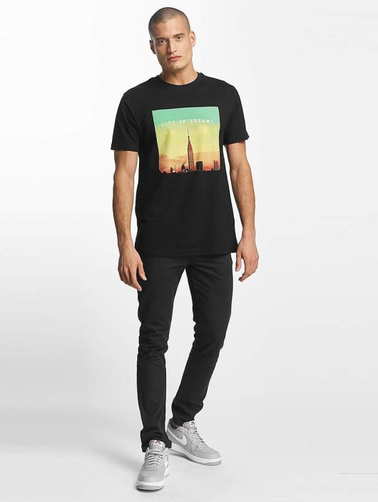 Mister Tee t-shirt City of Dreams zwart
