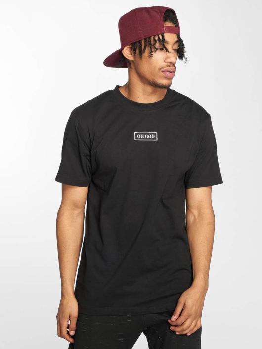 Mister Tee t-shirt Oh God zwart