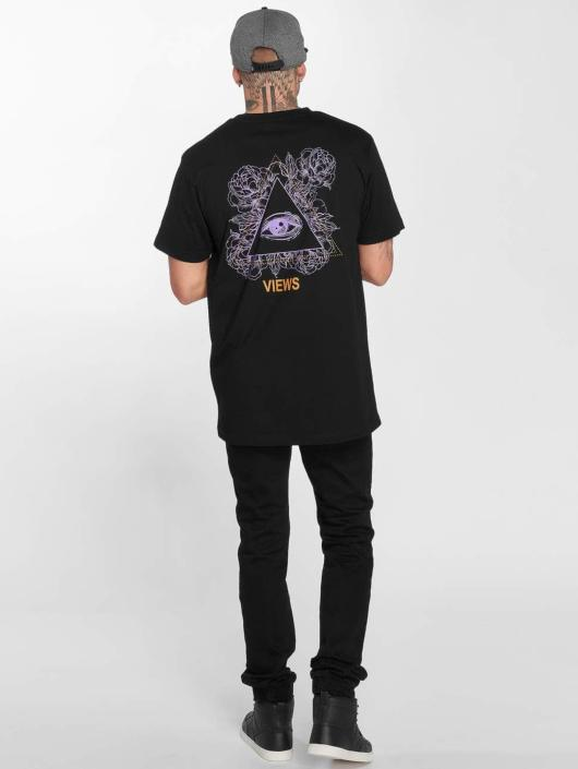 Mister Tee t-shirt Views zwart