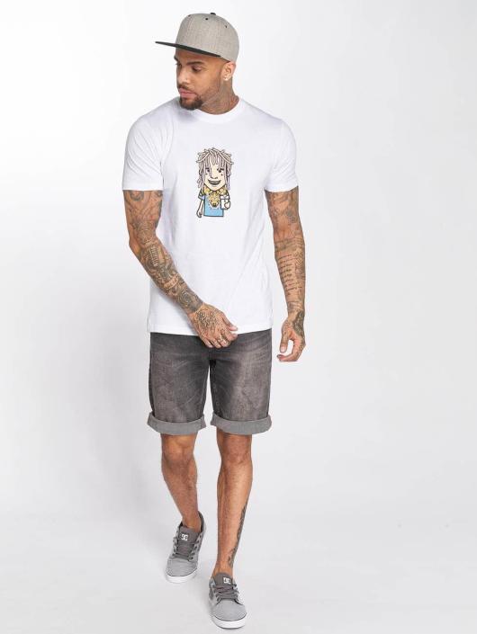 Mister Tee T-shirts Pump hvid