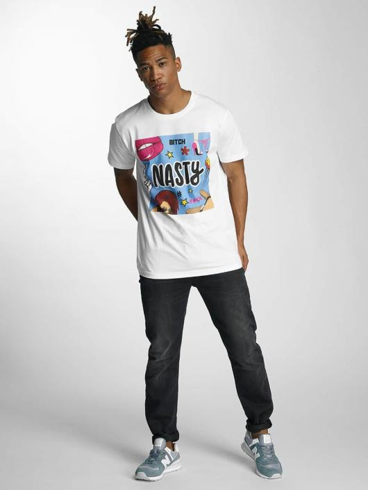 Mister Tee T-Shirty Nasty bialy