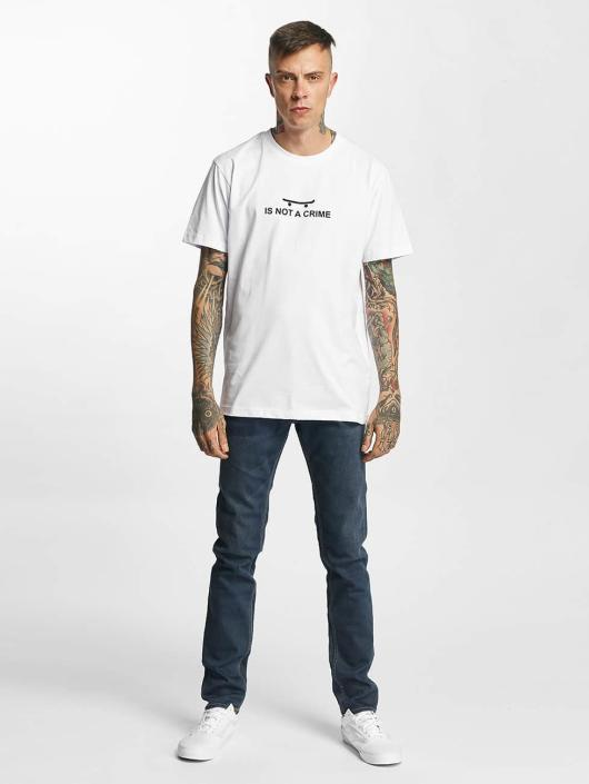 Mister Tee T-Shirty Not A Crime bialy