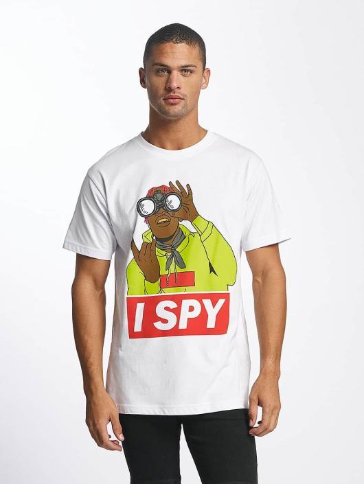 Mister Tee T-Shirty I Spy bialy