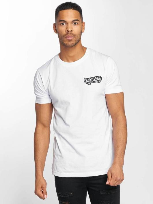 Mister Tee T-Shirty Barcelona bialy