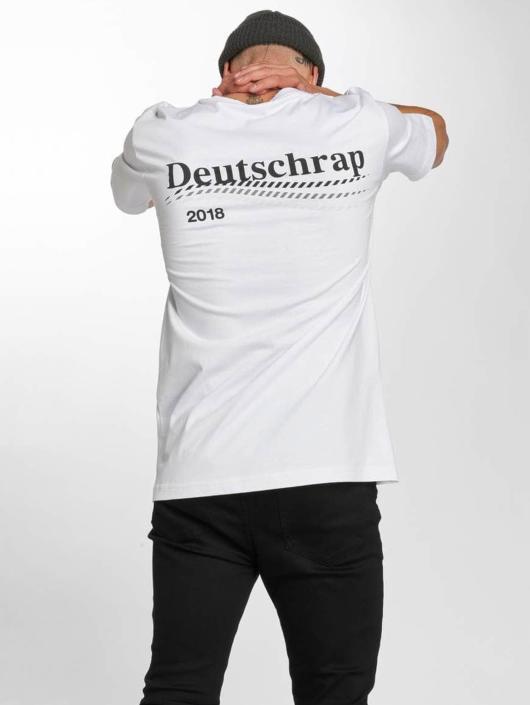 Mister Tee T-Shirty Deutschrap bialy