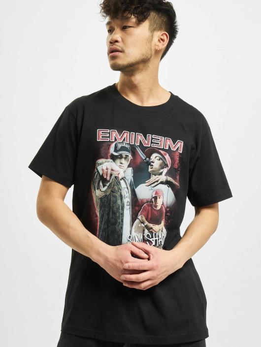 Mister Tee T-Shirty Eminem Slim Shady czarny