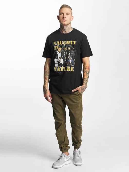 Mister Tee T-Shirty Naughty by Nature 90s czarny