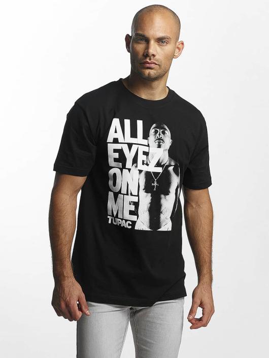 Mister Tee T-Shirty Tupac All Eyes On Me czarny