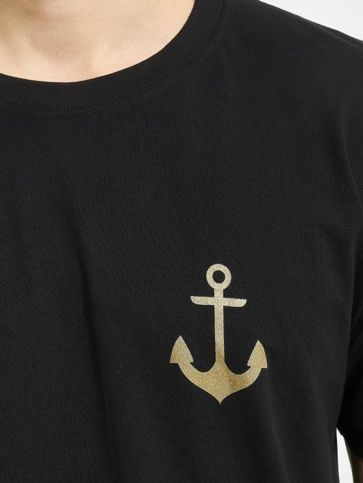 Mister Tee T-Shirty Captain czarny