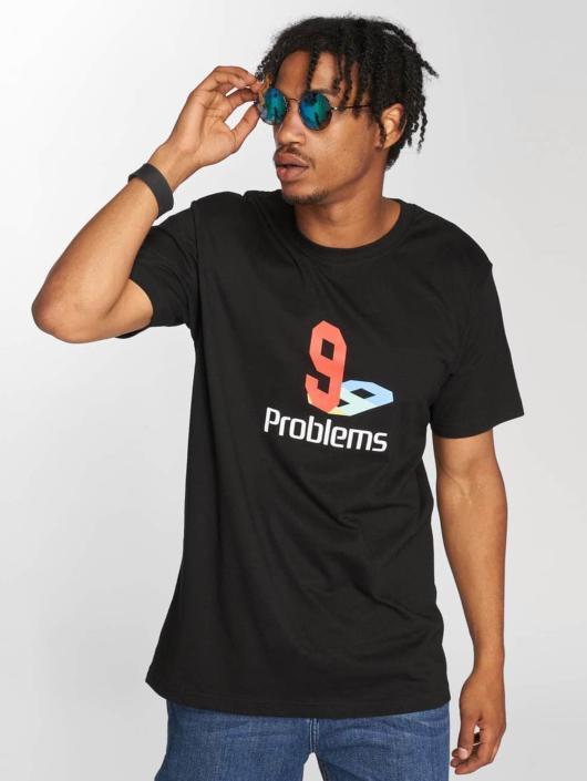 Mister Tee T-Shirty 99 Plys czarny