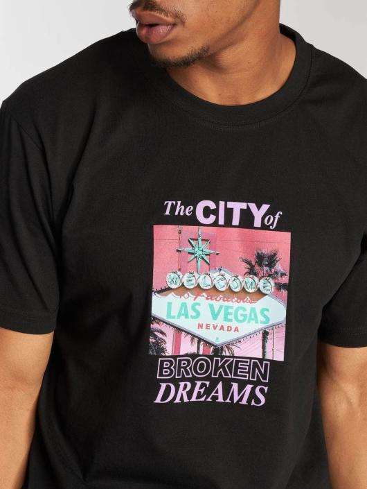 Mister Tee T-Shirty Broken Dreams czarny