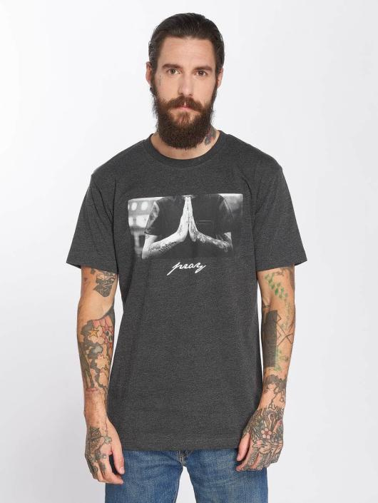 Mister Tee T-skjorter Pray grå