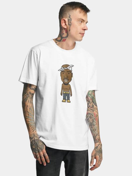 Mister Tee T-skjorter LA Sketch hvit