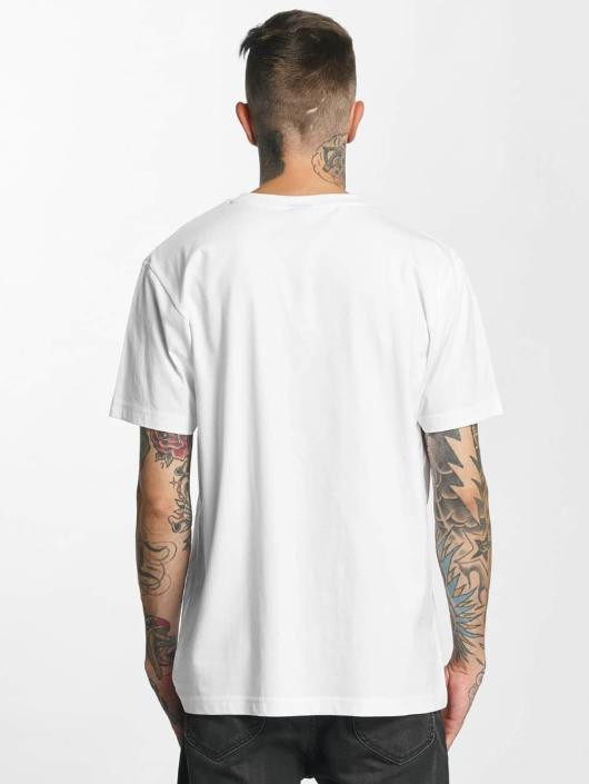 Mister Tee T-skjorter Flamingo hvit