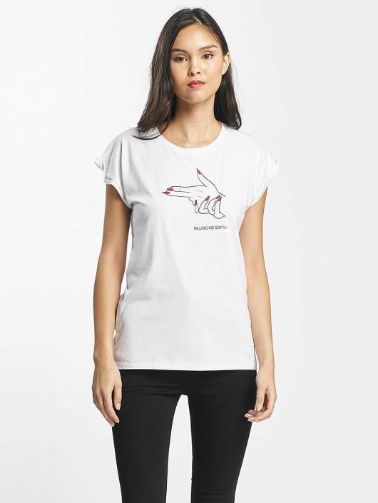 Mister Tee T-skjorter Killing Me Softly hvit