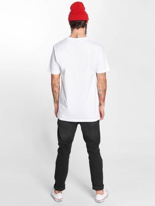Mister Tee T-skjorter LA Rose hvit