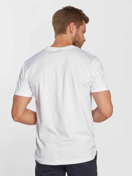 Mister Tee T-skjorter Romance hvit