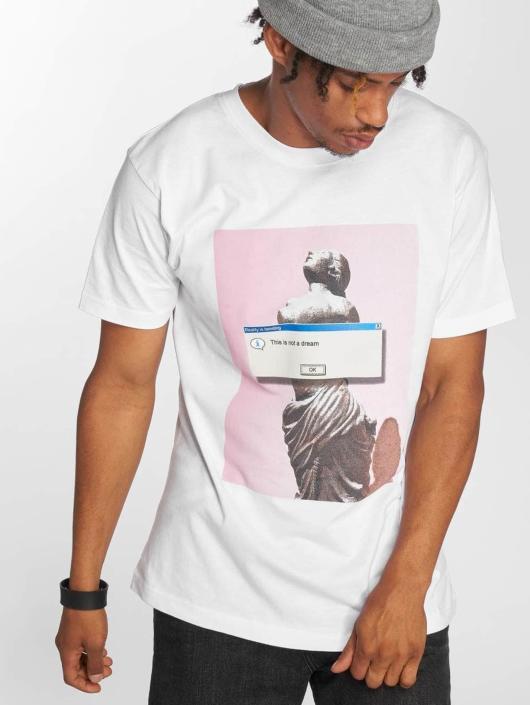Mister Tee T-skjorter Not A Dream hvit