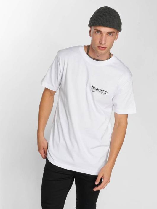 Mister Tee T-skjorter Deutschrap hvit